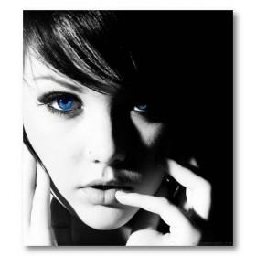 Αφίσα (melissa clarke, Ηνωμένο Βασίλειο, supermodel, sexy, αποπλανητικός, φρέσκο, στυλ, κορίτσι, μαύρο, λευκό, άσπρο)